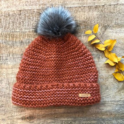 Gorro Pretty Rust.