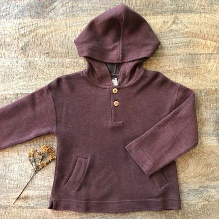 Sudadera Capucha Earth.